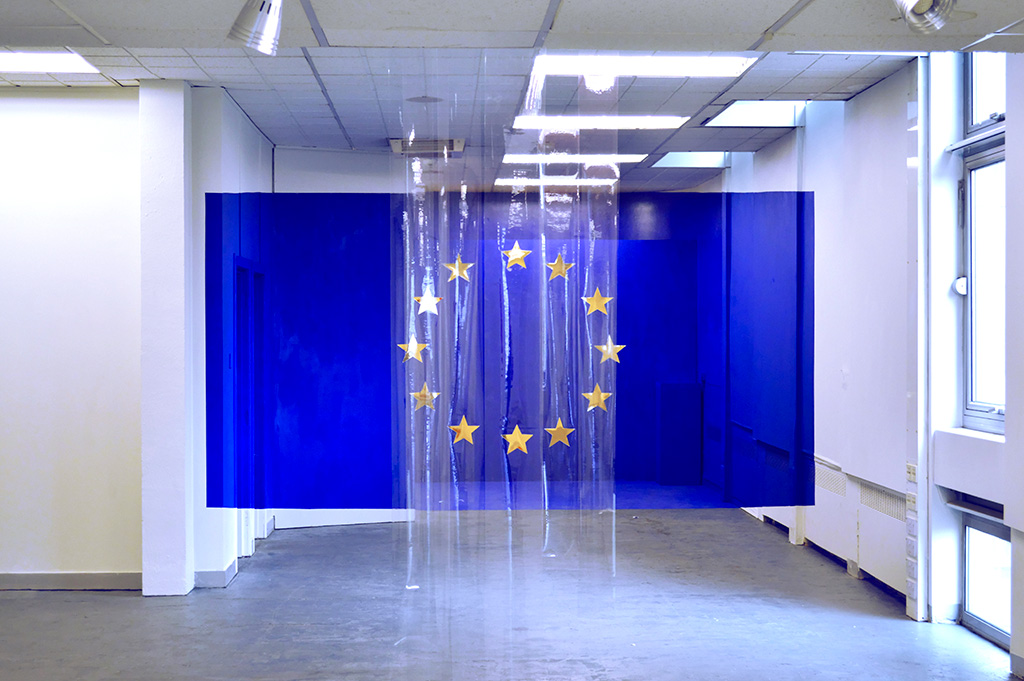 Artificial Landscape (European Union Flag) by Alessandro Di Massimo