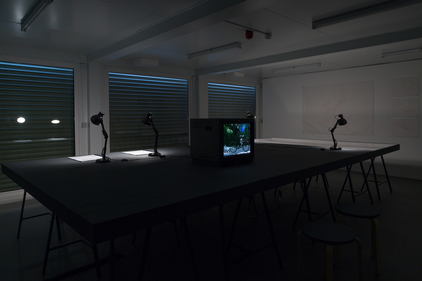 WHOLE WORLD WORKING – Exhibition view at Collective Gallery