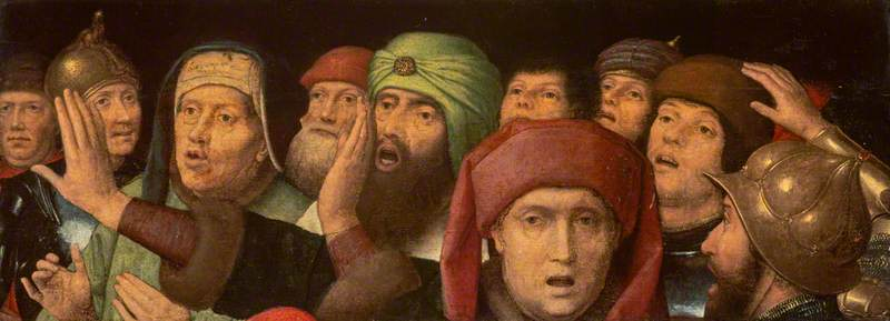 A Jeering Crowd by Hans Memling