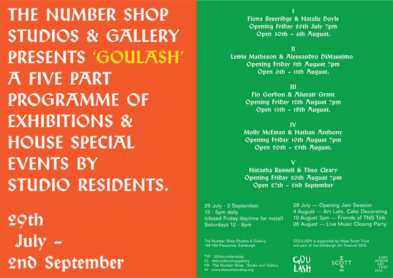 Goulash TNS Poster